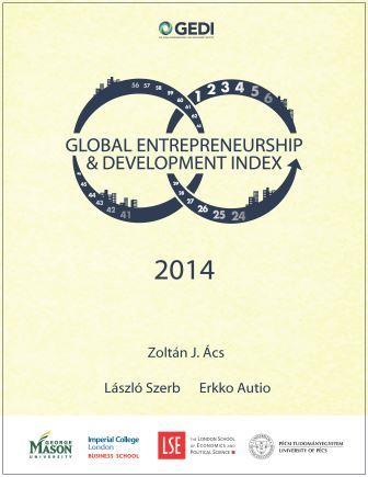 2014 Global Entrepreneurship and Development Index - $10 fee