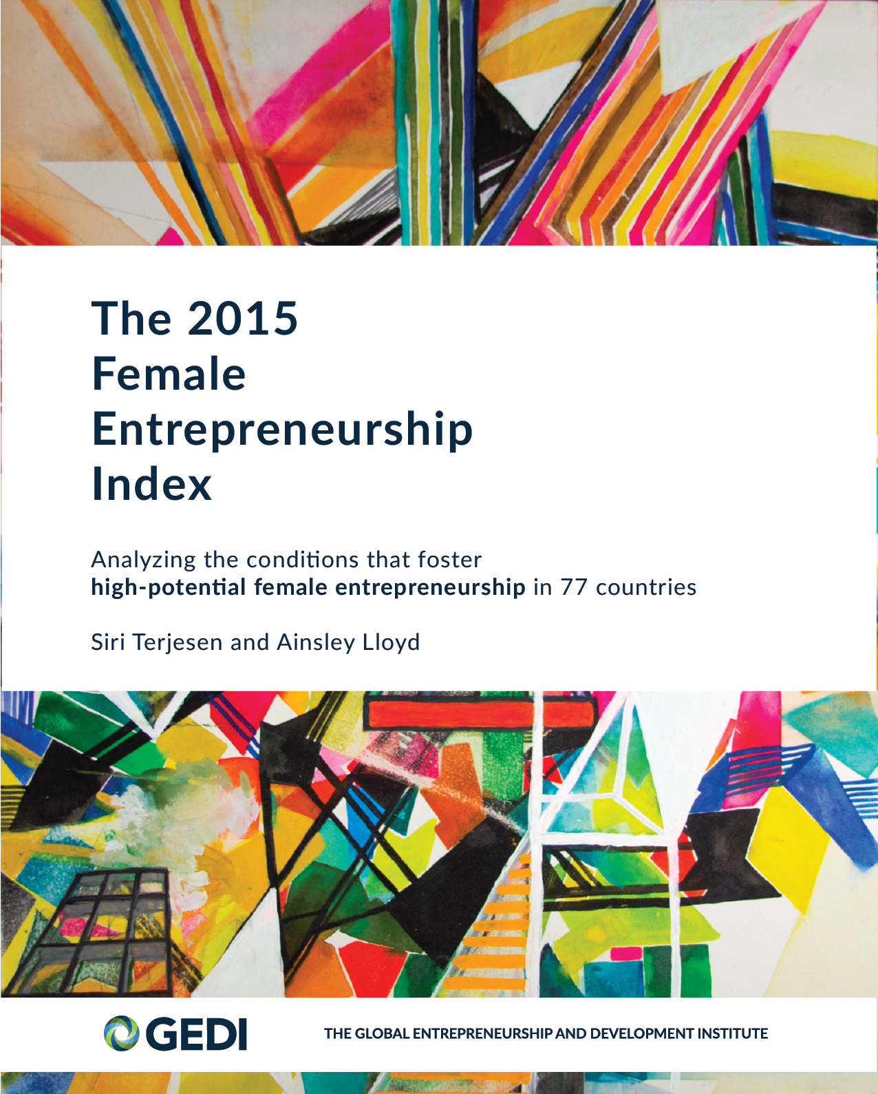 2015 Female Entrepreneurship Index