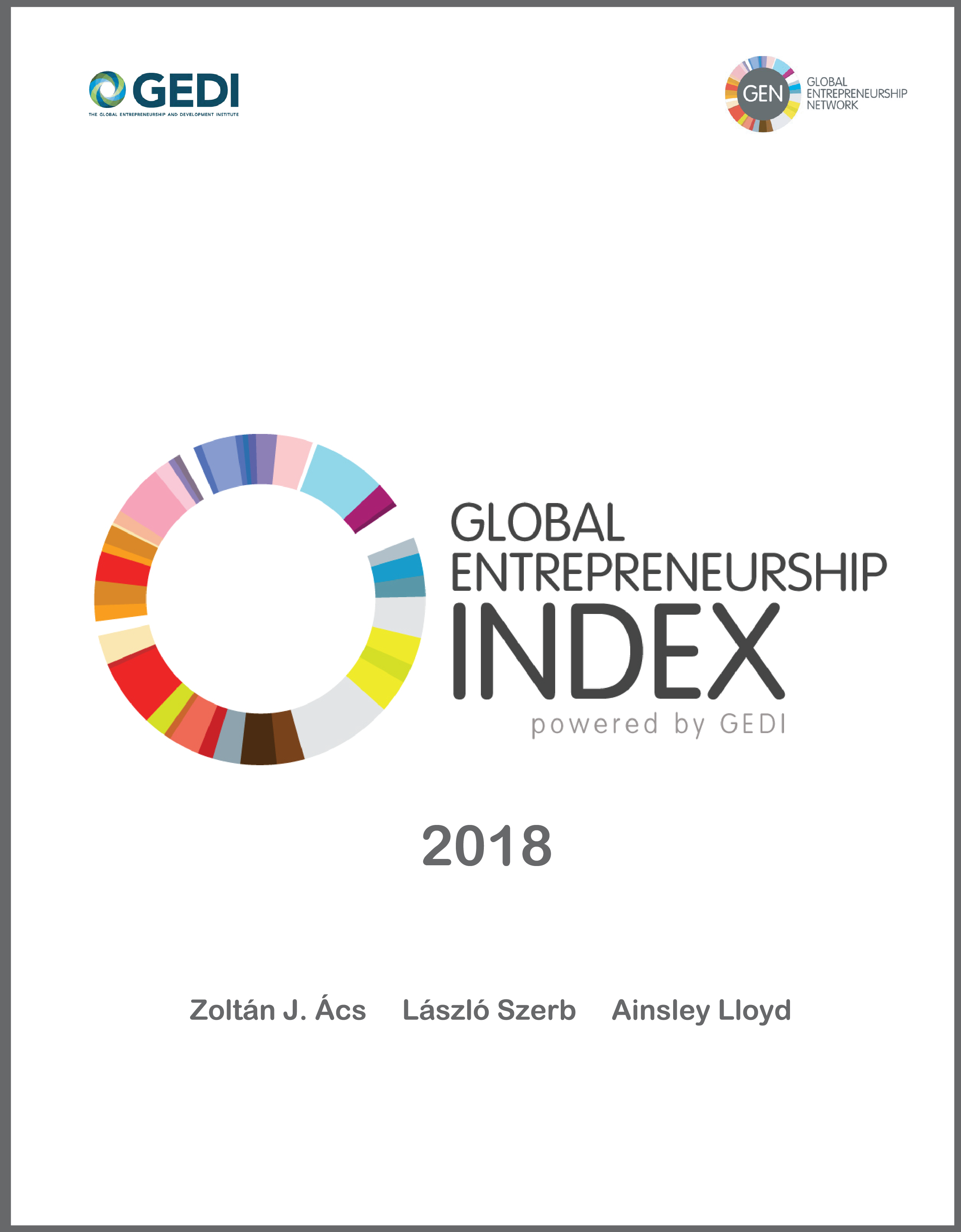 2018 Global Entrepreneurship Index